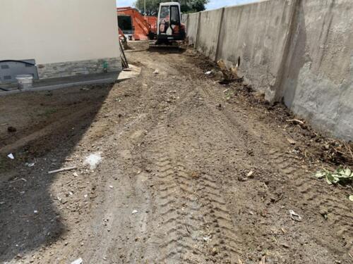 Demolizione muro