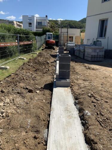 Pilastri in cemento